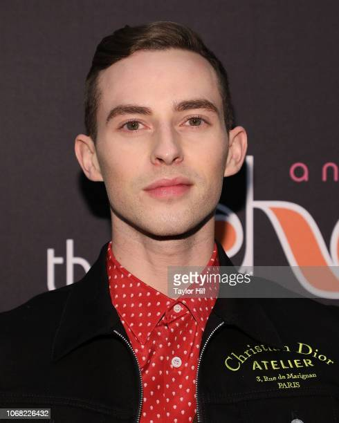 Adam Rippon attends opening night of The Cher Show at Neil Simon Theatre on December 3 2018 in New York City