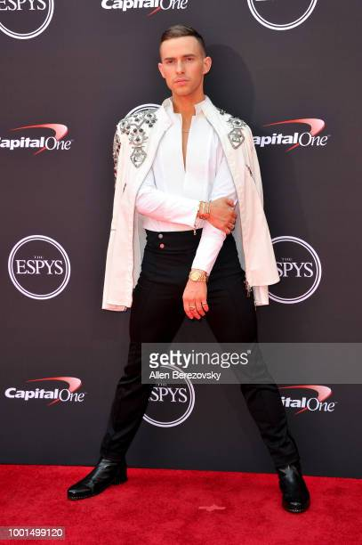 Adam Rippon attends The 2018 ESPYS at Microsoft Theater on July 18, 2018 in Los Angeles, California.