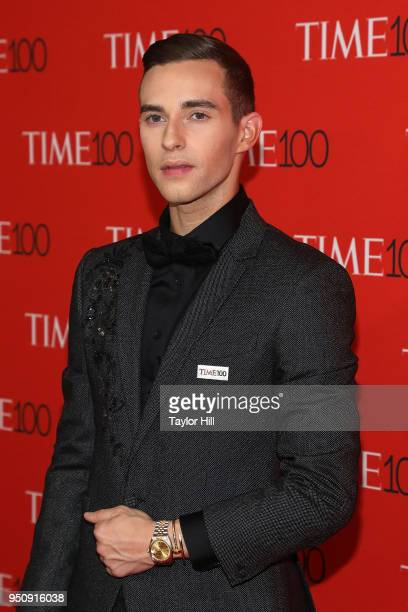 Adam Rippon attends the 2018 Time 100 Gala at Frederick P Rose Hall Jazz at Lincoln Center on April 24 2018 in New York City