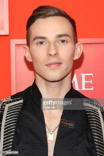 Adam Rippon attends the 2019 Time 100 Gala at Frederick P Rose Hall Jazz at Lincoln Center on April 23 2019 in New York City