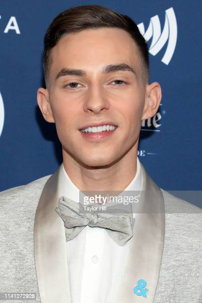 Adam Rippon attends the 30th Annual GLAAD Media Awards at New York Hilton Midtown on May 4 2019 in New York City