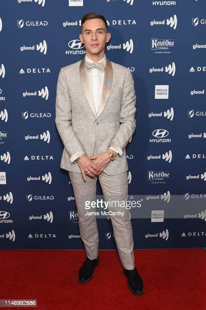 Adam Rippon attends the 30th Annual GLAAD Media Awards New York at New York Hilton Midtown on May 04, 2019 in New York City.