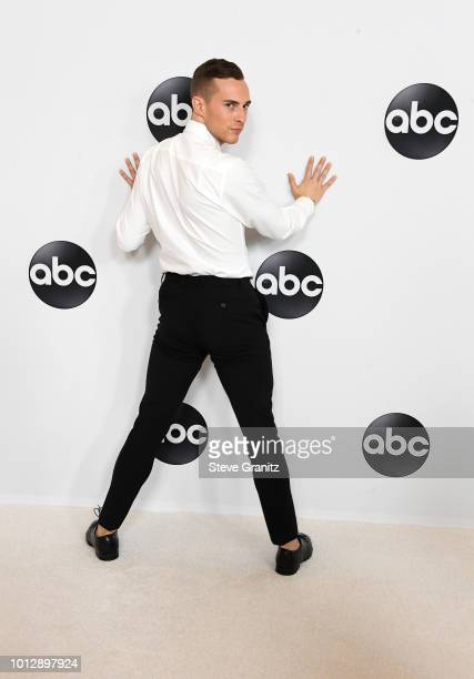 Adam Rippon attends the Disney ABC Television TCA Summer Press Tour at The Beverly Hilton Hotel on August 7 2018 in Beverly Hills California