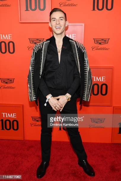 Adam Rippon attends the TIME 100 Gala Red Carpet at Jazz at Lincoln Center on April 23 2019 in New York City