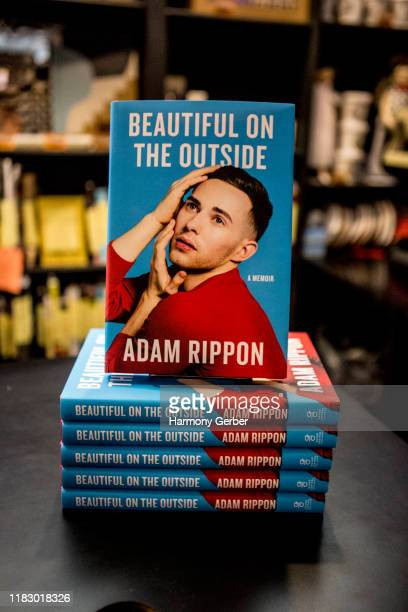 Adam Rippon Celebrating New Book Beautiful On The Outside at Book Soup on October 23 2019 in West Hollywood California