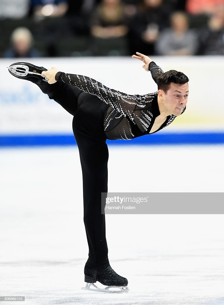 2016 Prudential U.S. Figure Skating Championship - Day 2 : News Photo