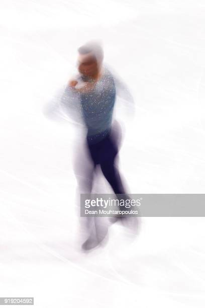 Adam Rippon of the United States competes during the Men's Single Free Program on day eight of the PyeongChang 2018 Winter Olympic Games at Gangneung...