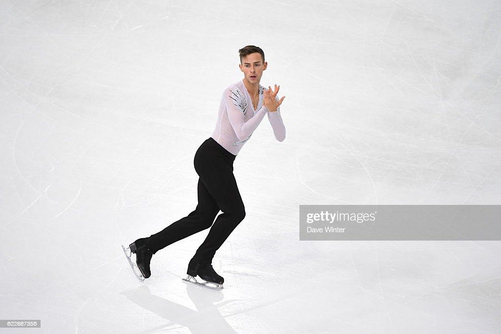 ISU Grand Prix of France of Figure Skating - Paris Day Two : News Photo