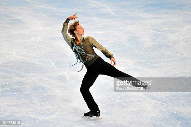 Adam Rippon of United States during the men short program event of the Eric Bompard Figure Skating trophy on 0ctober 16, 2009 at the...