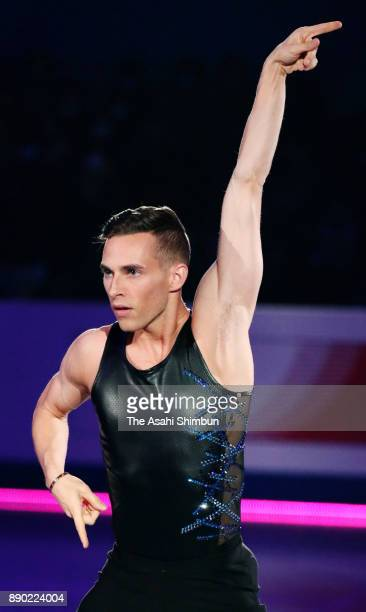 Adam Rippon of United States performs in the gala exhibition during day four of the ISU Junior Senior Grand Prix of Figure Skating Final at Nippon...