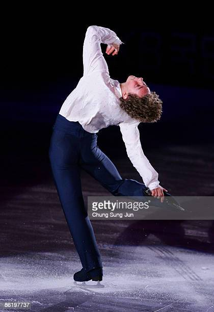 Adam Rippon of USA performs during Festa on Ice 2009 at KINTEX on April 24 2009 in Goyang South Korea