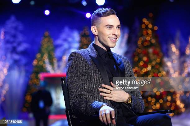 Adam Rippon speaks during Full Frontal With Samantha Bee Presents Christmas On I.C.E. At PlayStation Theater on December 17, 2018 in New York City....
