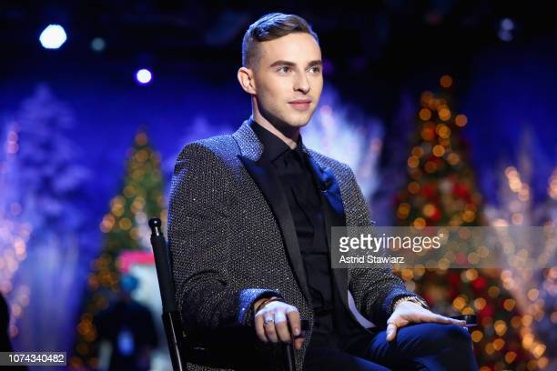 Adam Rippon speaks during Full Frontal With Samantha Bee Presents Christmas On ICE at PlayStation Theater on December 17 2018 in New York City 477176