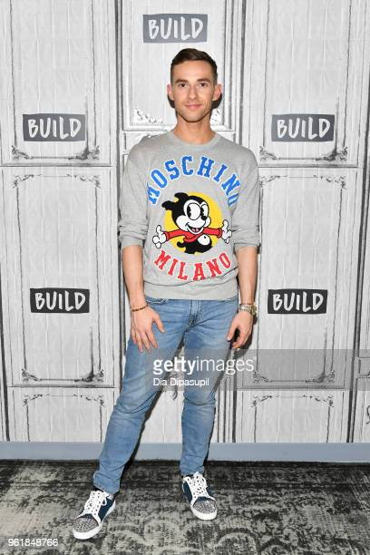Adam Rippon visits the Build Series to discuss 'Dancing with The Stars Athletes' at Build Studio on May 23 2018 in New York City