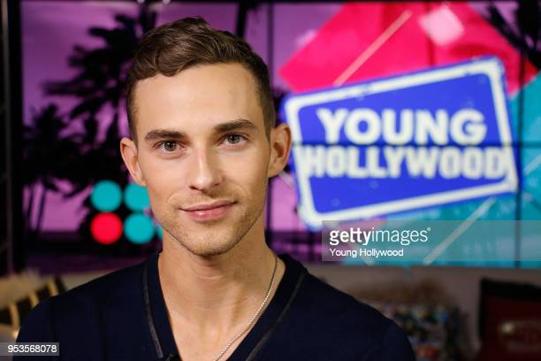 Adam Rippon visits the Young Hollywood Studio on May 1 2017 in Los Angeles California