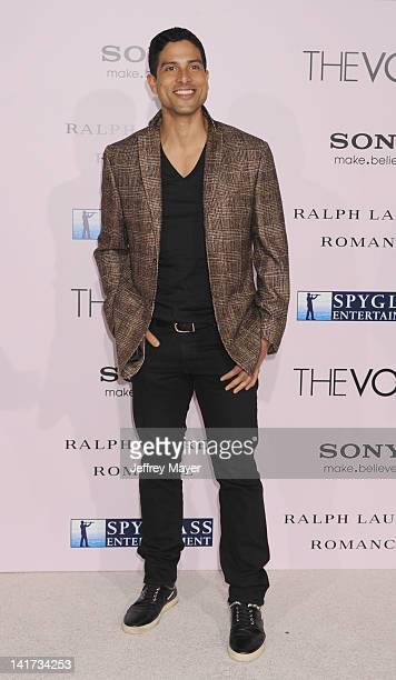 Adam Rodriguez arrives at The Vow Los Angeles Premiere at Grauman's Chinese Theatre on February 6 2012 in Hollywood California