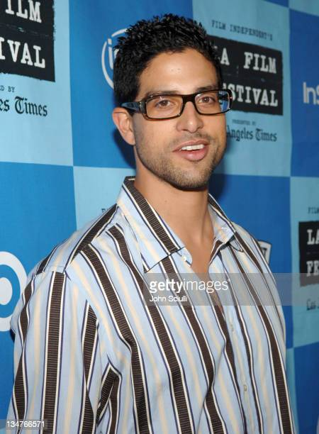 Adam Rodriguez during 2006 Los Angeles Film Festival A Scanner Darkly Screening Red Carpet at John Anson Ford Ampitheatre in Los Angeles California...