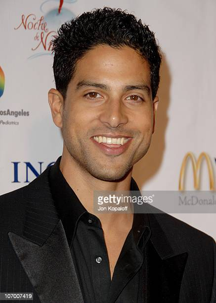 Adam Rodriguez during Childrens Hospital Los Angeles 2nd Noche de Ninos Gala Honoring Johnny Depp Arrivals at Beverly Hilton Hotel in Beverly Hills...