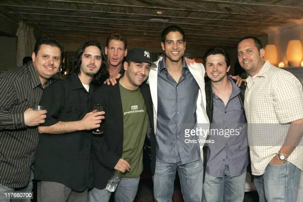 Adam Rodriguez Freddy Rodriguez and guests
