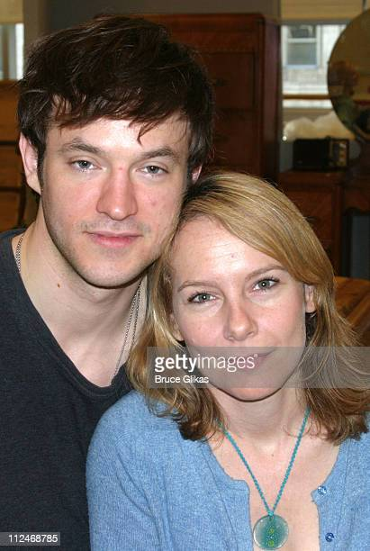 """Adam Rothenberg and Amy Ryan during The Kennedy Center Presents """"A Streetcar Named Desire"""" - Meet & Greet at 42nd Street Studios in New York City,..."""