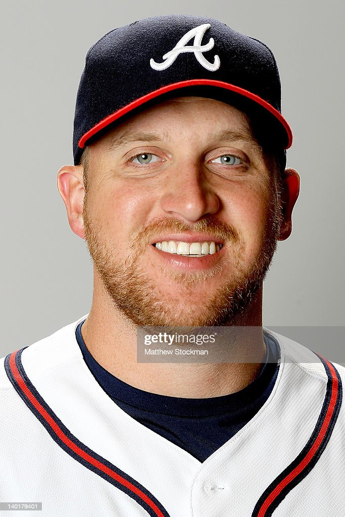Adam Russell of the Atlanta Braves poses for a portrait during photo day at Champion Stadium on February 29, 2012 in Lake Buena Vista, Florida.
