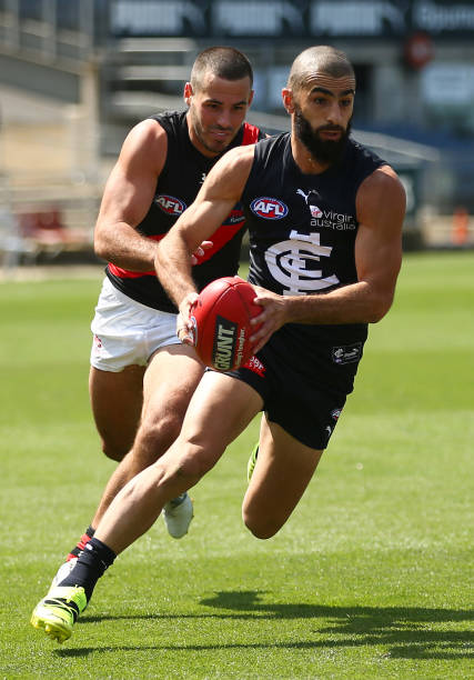 AUS: AFL Practice Match - Carlton v Essendon