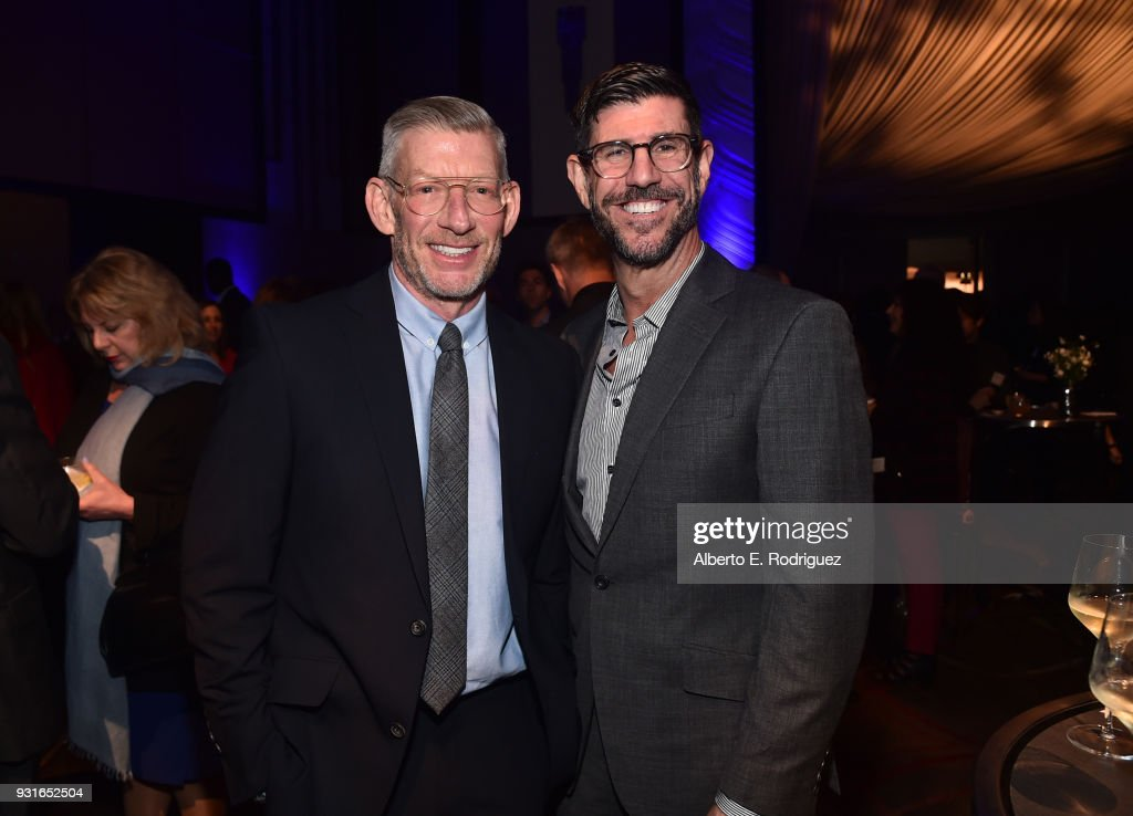 Adam Sanderson (L) and Rich Ross attend A Legacy Of Changing Lives presented by the Fulfillment Fund at The Ray Dolby Ballroom at Hollywood & Highland Center on March 13, 2018 in Hollywood, California.