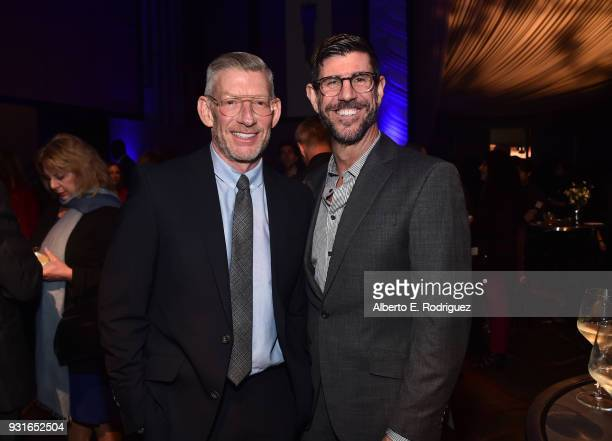 Adam Sanderson and Rich Ross attend A Legacy Of Changing Lives presented by the Fulfillment Fund at The Ray Dolby Ballroom at Hollywood Highland...