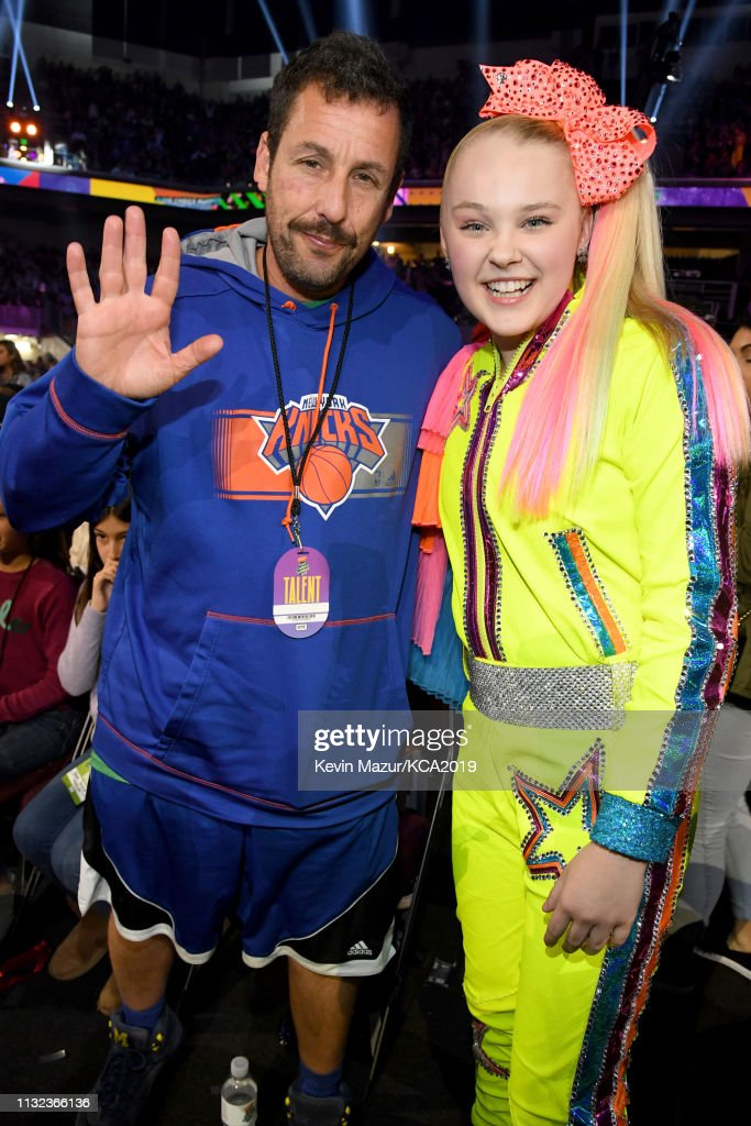 Adam Sandler and JoJo Siwa attend Nickelodeon's 2019 Kids