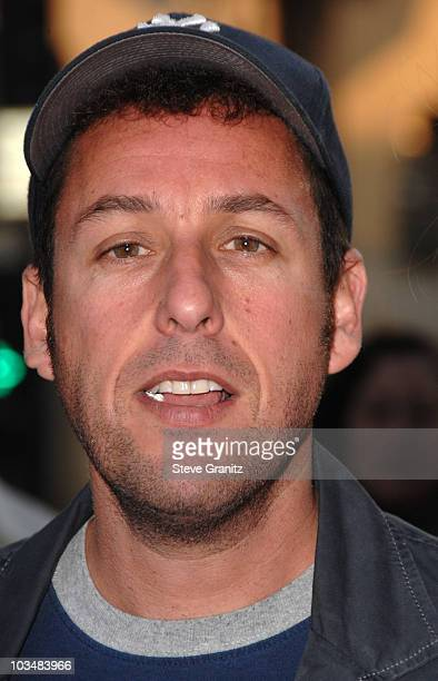 """Adam Sandler arrives at Sony Pictures Premiere of """"You Don't Mess With the Zohan"""" on May 28, 2008 at the Grauman's Chinese Theatre in Hollywood,..."""