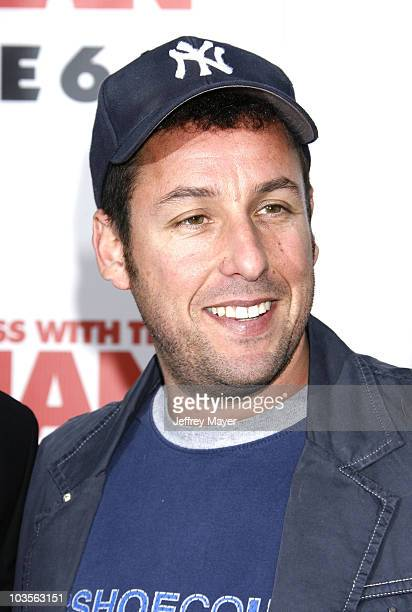 """Adam Sandler arrives at Sony Pictures Premiere of """"You Don't Mess With the Zohan"""" on May 28, 2008 at Grauman's Chinese Theatre in Hollywood,..."""