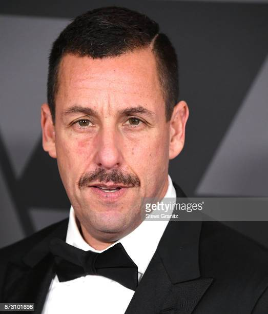 Adam Sandler arrives at the Academy Of Motion Picture Arts And Sciences' 9th Annual Governors Awards at The Ray Dolby Ballroom at Hollywood Highland...