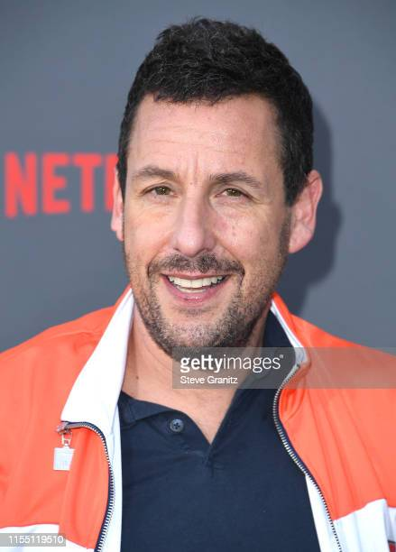 Adam Sandler arrives at the LA Premiere Of Netflix's Murder Mystery at Regency Village Theatre on June 10 2019 in Westwood California