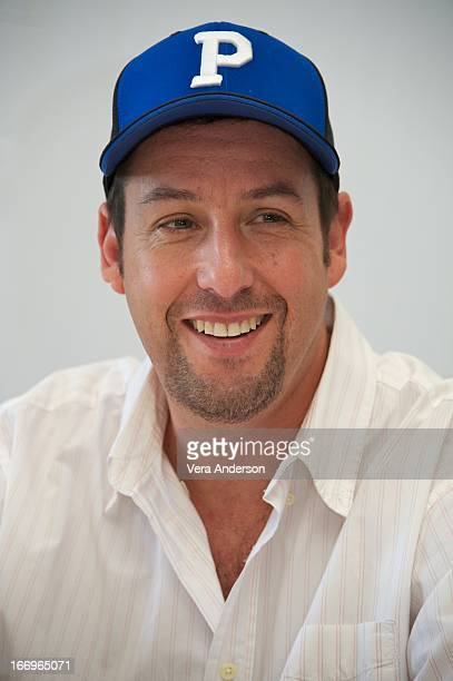 Adam Sandler at the 'Grown Ups 2' Press Junket on April 18 2013 in Cancun Mexico