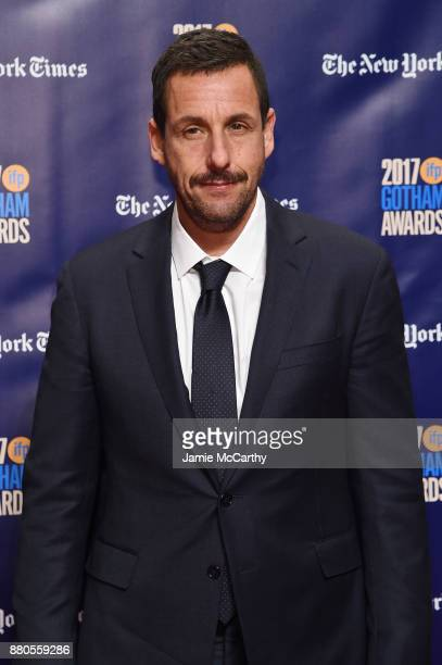 Adam Sandler attends the 2017 IFP Gotham Awards at Cipriani Wall Street on November 27 2017 in New York City