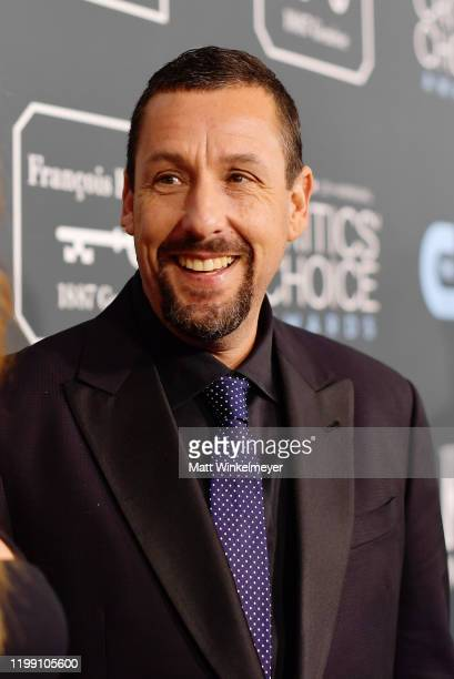 Adam Sandler attends the 25th Annual Critics' Choice Awards at Barker Hangar on January 12 2020 in Santa Monica California