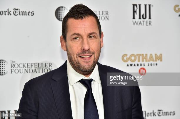 Adam Sandler attends the IFP's 29th Annual Gotham Independent Film Awards at Cipriani Wall Street on December 02 2019 in New York City