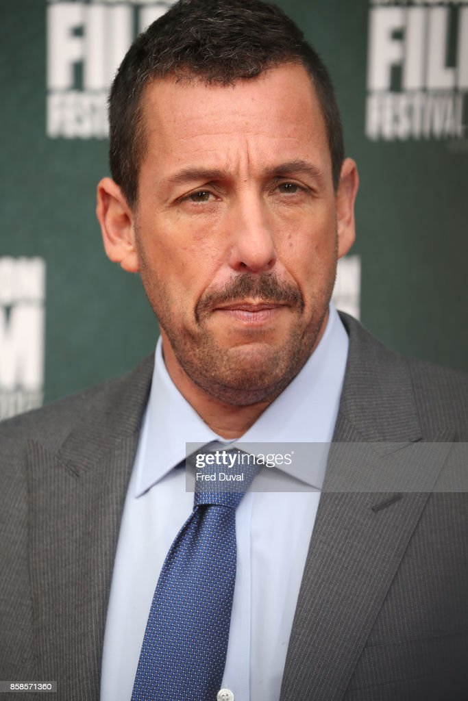 Adam Sandler attends 'The Meyerowitz Stories' UK Premiere during the 61st BFI London Film Festival at Embankment Gardens Cinema on October 6, 2017 in London, England.