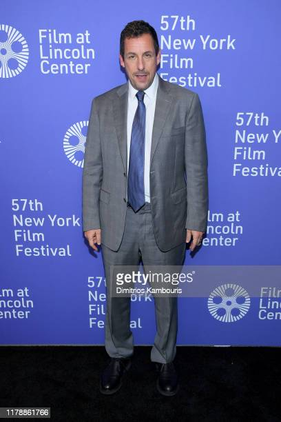 Adam Sandler attends the Uncut Gems premiere during the 57th New York Film Festival at Alice Tully Hall Lincoln Center on October 03 2019 in New York...