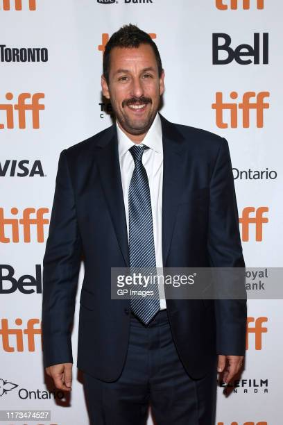 Adam Sandler attends the Uncut Gemspremiere during the 2019 Toronto International Film Festival at Princess of Wales Theatre on September 09 2019 in...