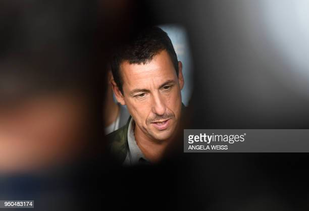 Adam Sandler attends the World Premiere of the Netflix film 'The Week Of' at AMC Loews Lincoln Square 13 on April 23 2018 in New York City