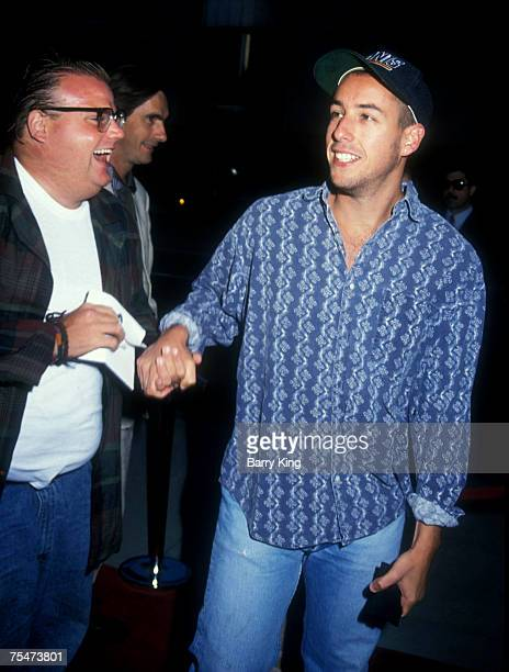 Adam Sandler Chris Farley at the The Academy in Beverly Hills California