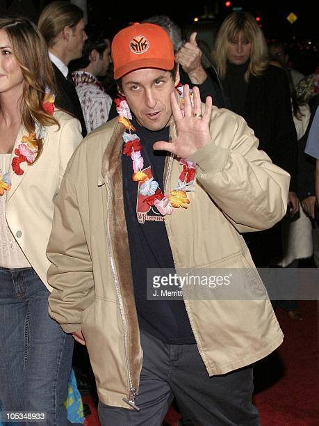 Adam Sandler during '50 First Dates' Los Angeles Premiere at Mann Village Theatre in Westwood California United States