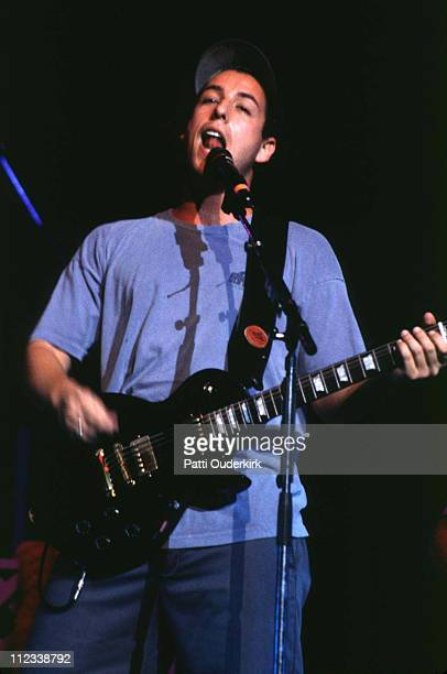 Adam Sandler during Adam Sandler at Radio City Music Hall 1996 at Radio City Music Hall in New York City New York United States