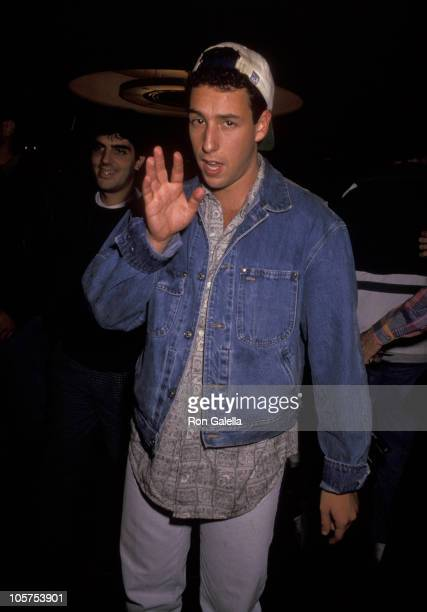 Adam Sandler during Adam Sandler at 'Saturday Night Live' Season KickOff Party at Rockefeller Plaza in New York City New York United States