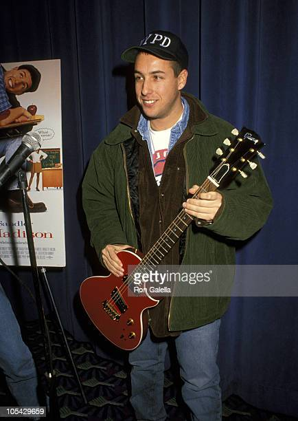 Adam Sandler during 'Billy Madison' New York City Premiere at Cineplex Odeon Cinema in New York City New York United States