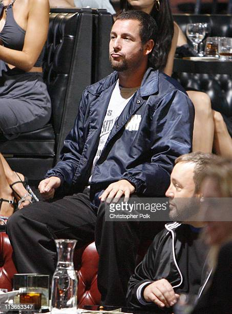 Adam Sandler during First Annual Spike TV's Guys Choice - Backstage and Audience at Radford Studios in Los Angeles, California, United States.