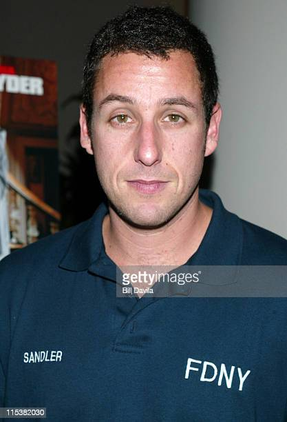 Adam Sandler during 'Mr Deeds' Premiere in New York City at Loews Cineplex Lincoln Square in New York City New York United States