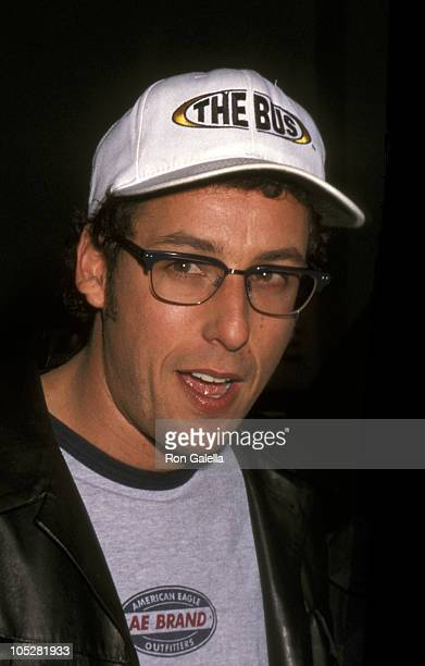 Adam Sandler during 'The Wedding Singer' New York City Premiere at Sony Lincoln Square in New York City New York United States