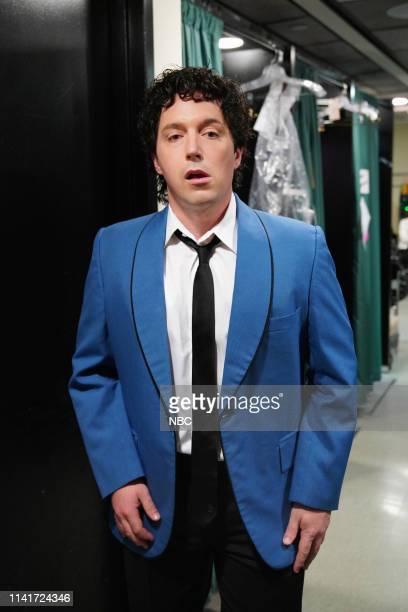 "Adam Sandler"" Episode 1765 -- Pictured: Beck Bennett as the Wedding Singer, backstage in Studio 8H on Saturday, May 4, 2019 --"